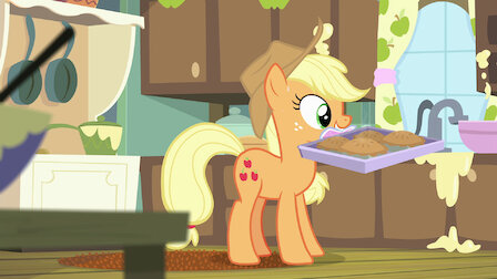 """Watch Applejack's """"Day"""" Off. Episode 10 of Season 6."""